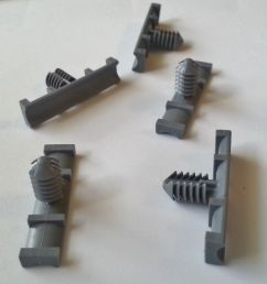 5x gm olds nylon fasteners wiring harness straps retainers clips 9mm x 37mm nos ebay [ 940 x 1000 Pixel ]