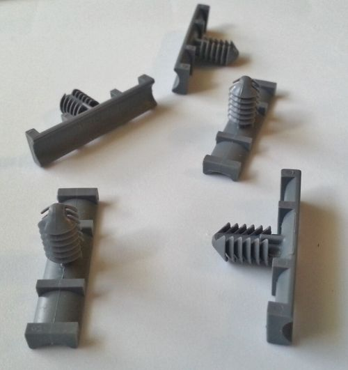 small resolution of 5x gm olds nylon fasteners wiring harness straps retainers clips 9mm x 37mm nos ebay