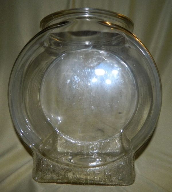Original Planters Peanuts Fishbowl Glass Store Counter