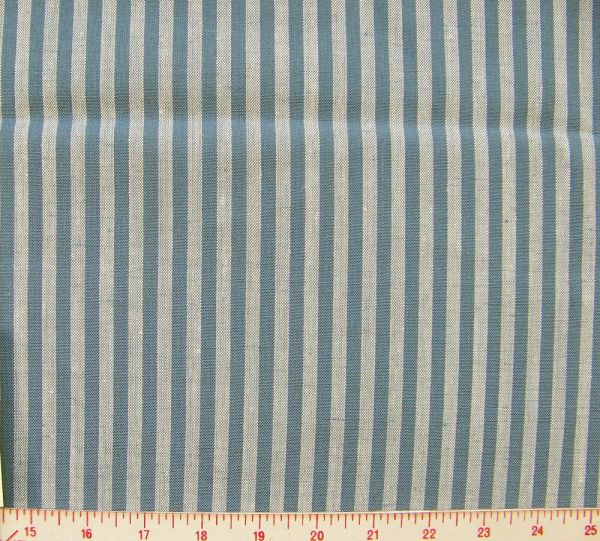 Logantex Junior Executive Stripe Linen Blend Fabric 250 ...