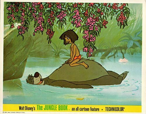 Animated Jungle Wallpaper Walt Disney The Jungle Book Original British Lobby Card