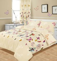 Butterfly Duvet Cover with Pillowcase Quilt Cover Bedding ...