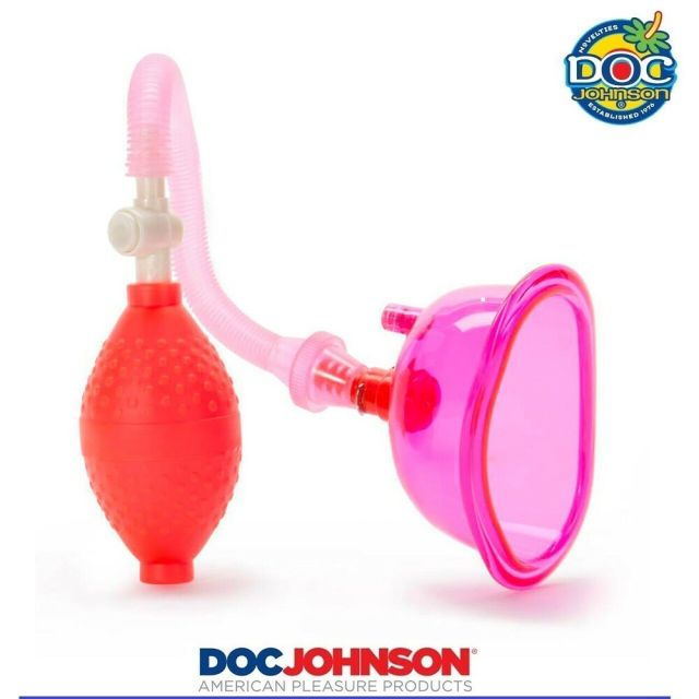 Details About Doc Johnson Pussy Pump Vagina Sucker Clit Enlarger Clitoral Vacuum Orgasm Pink