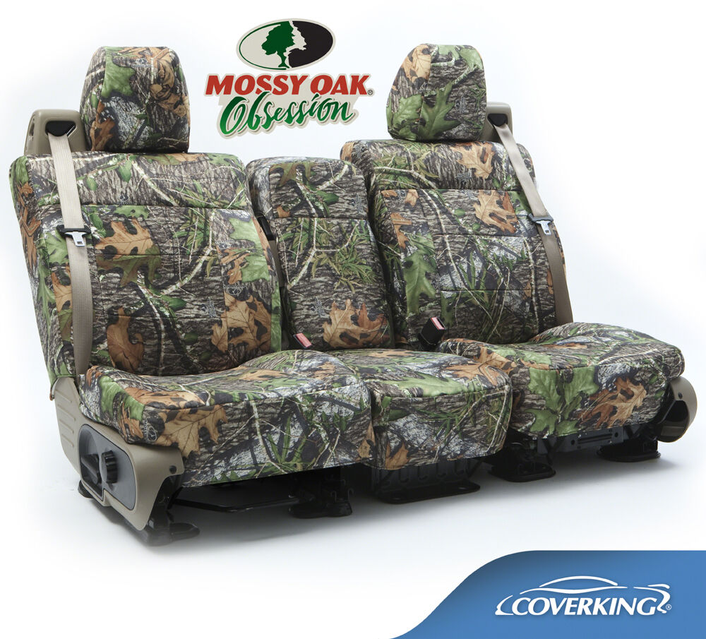 NEW Full Printed Mossy Oak Obsession Camo Camouflage Seat Covers  510202912  eBay