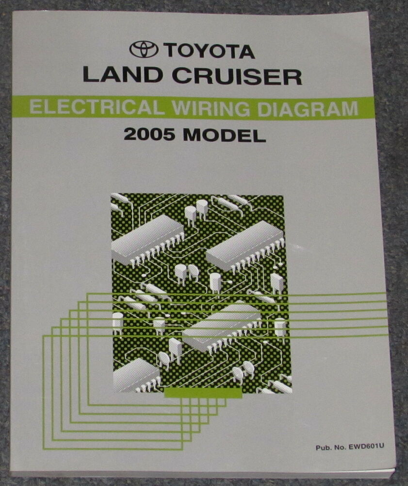 hight resolution of 2005 toyota land cruiser electrical wiring diagram service manual ebay