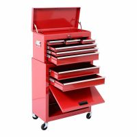 Portable Top Chest Rolling Tool Storage Box Sliding ...