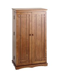 Hardwood 612 CD 298 DVD Storage Cabinet CD/DVD Cabinet ...