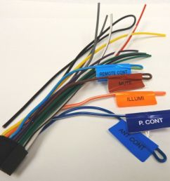 kenwood original wire harness ddx271 ddx371 ebay kenwood mobile audio wiring harness diagram kenwood wiring harness [ 1000 x 833 Pixel ]
