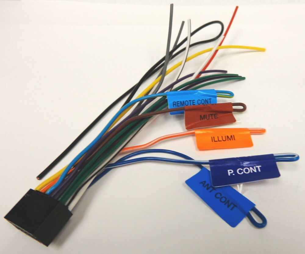 medium resolution of kenwood original wire harness ddx271 ddx371 ebay kenwood kmr 350u wiring harness kenwood wiring harness