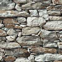 Rock Stone Wallpaper New York Fieldstone Rustic Wall Paper ...