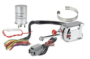 Turn Signal Switch with Flasher Car Truck Classic Heavy