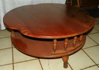 Maple Round Coffee Table by Ethan Allen (RP) (CT98) | eBay