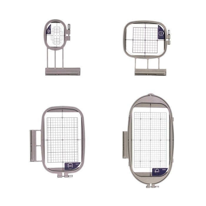 4 Hoops for Brother Embroidery Machine Dreamweaver XE