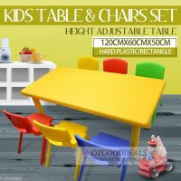 Large Kids Toddler Children Activity Table and 6 Chair ...