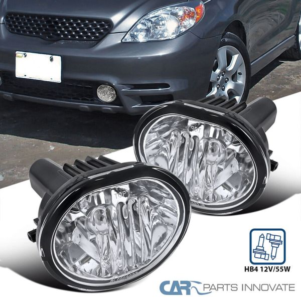03-08 Toyota Matrix Pontiac Vibe Clear Fog Light Driving