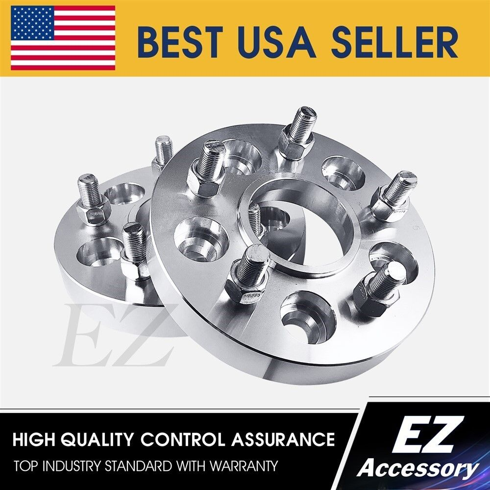 hight resolution of details about hub centric wheel adapters 5x4 5 jeep wrangler cherokee tj lj yj spacers 1 5