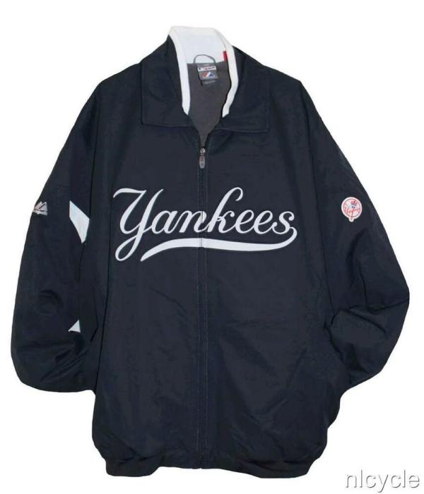 York Yankees Mlb Authentic Majestic Premier Dugout