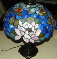 Stained Glass Lamp Shade Table Lamp | eBay