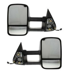 details about kool vue power mirror pair for 99 2006 chevy silverado 1500 htd telescopic tow [ 1000 x 1000 Pixel ]