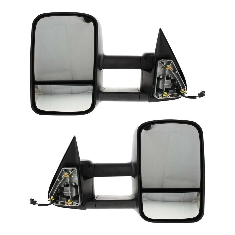hight resolution of details about kool vue power mirror pair for 99 2006 chevy silverado 1500 htd telescopic tow