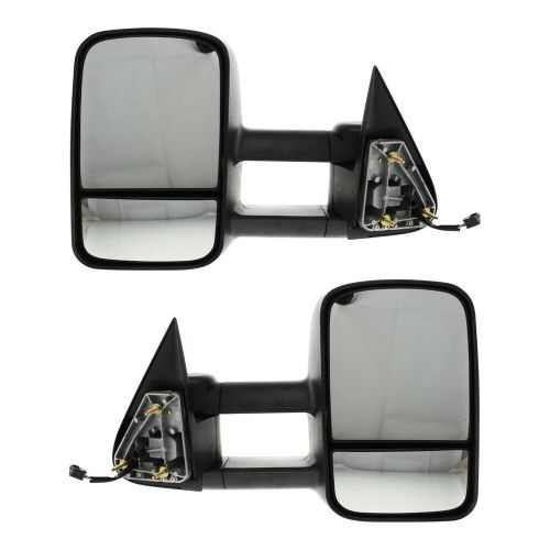 small resolution of details about kool vue power mirror pair for 99 2006 chevy silverado 1500 htd telescopic tow