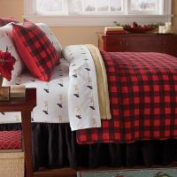 RED BUFFALO PLAID Full / Queen QUILT SET : WESTERN LODGE ...