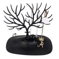 Jewelry Necklace Ring Earring Tree Stand Display Organizer ...