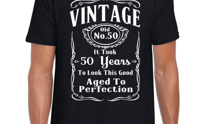 Mens Old Banger 50 Years Old Funny 50Th Birthday T-Shirt Gift Tshirt Present
