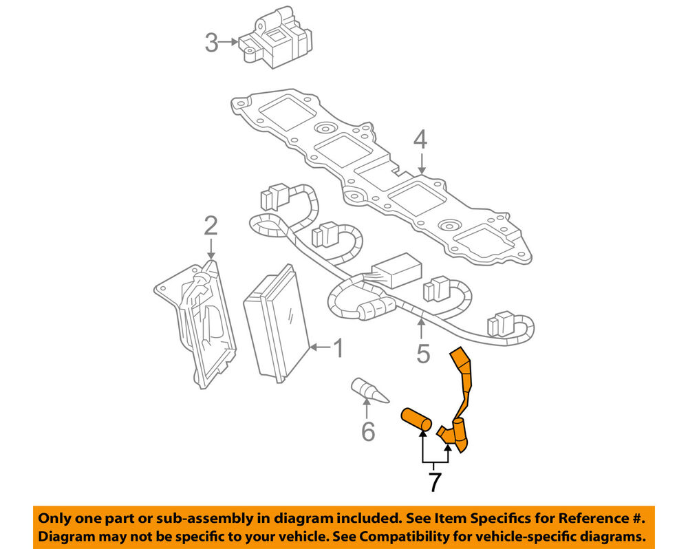 medium resolution of details about gm oem ignition spark plug wire or set see image 89018058