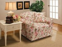 JERSEY RECLINER COVER-LAZY BOY ---PINK FLORAL---FITS MOST ...