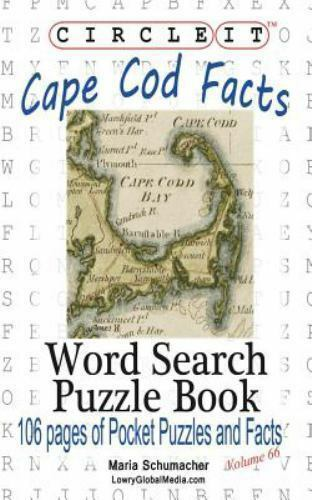 Circle It, Cape Cod Facts, Word Search, Puzzle Book By