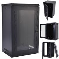 15U Wall Mount Network Server Data Cabinet Enclosure Rack ...
