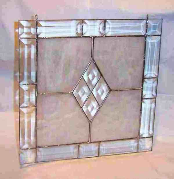 Victorian Stained Glass Frame