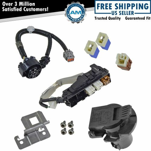small resolution of details about oem 7 pin trailer tow hitch receiver harness assembly for nissan pathfinder new