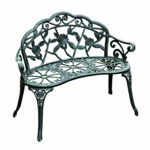 Outdoor Patio Garden Bench Yard Park Furniture Cast
