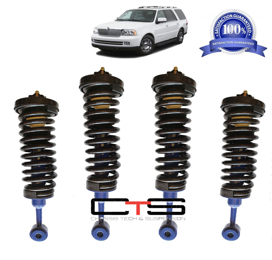 medium resolution of lincoln navigator air bag to coil spring struts suspension conversion kit 03 06