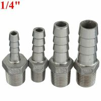 "1/4""Inch Male Thread Pipe Fitting x Barb Hose Tail ..."