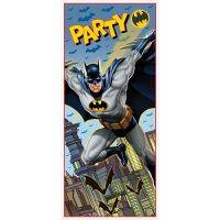 BATMAN Gotham Hero PLASTIC DOOR POSTER ~ Birthday Party ...