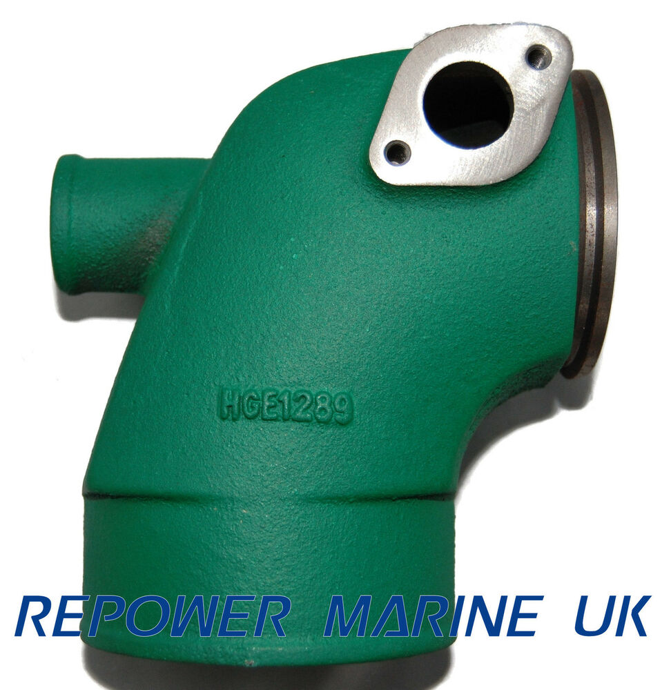 hight resolution of exhaust elbow for volvo penta diesel replaces 861289 tmd31 kad32 kad42 ebay