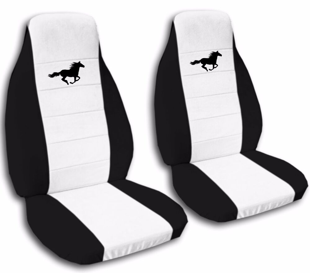 Front And Rear 2003 Ford Mustang Gt Seat Covers Black And
