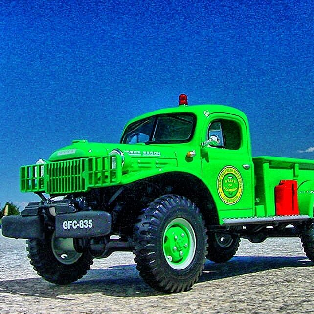 Sinclair Service 1949 Dodge Power Wagon Wrecker First Gear Tow