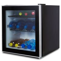 Beverage Refrigerator Mini Wine Fridge Soda Beer Drinks