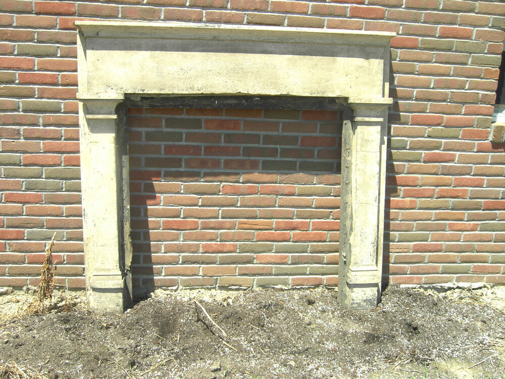 Antique Fireplace Mantel 1800s Heart Pine Vitorian Cream Surround 1  eBay