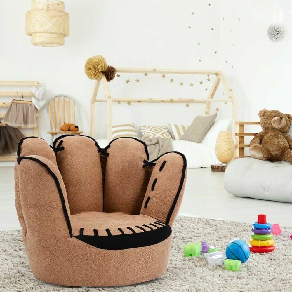 kid living room furniture how to design with fireplace and tv kids sofa five finger armrest chair couch children toddler gift 783883122761 ebay