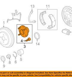 details about chevrolet gm oem 13 15 spark rear suspension hub 95492094 [ 1000 x 798 Pixel ]