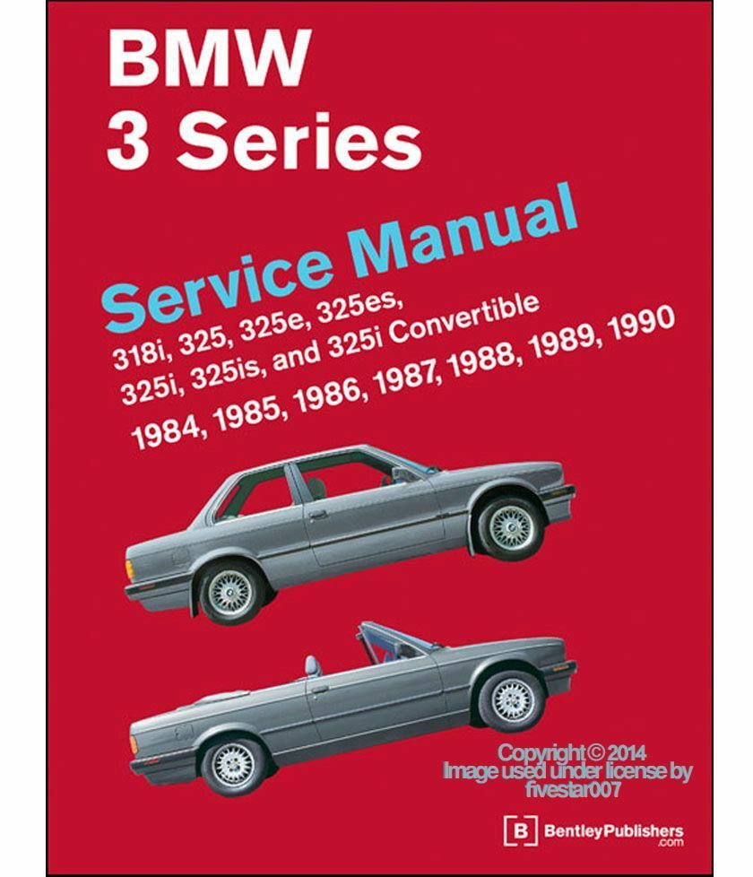 hight resolution of bentley diagram repair guide service manual for bmw 318i 325 325e 325i 325is m3 ebay
