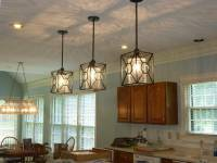 1- FRENCH FARMHOUSE RUSTIC BLACK PENDANT LIGHT FIXTURE ...
