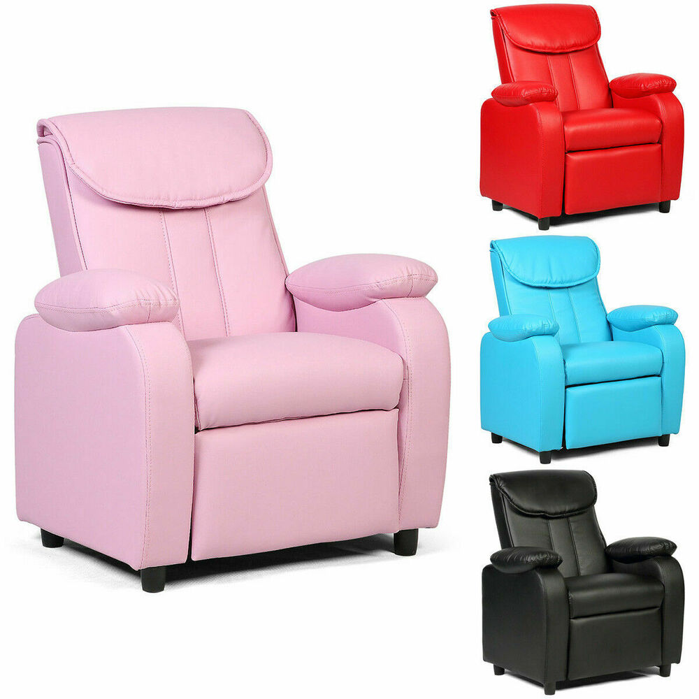 New Kid Recliner Sofa Armrest Chair Couch Children Living
