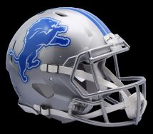 Detroit Lions Riddell Professional Nfl Football Team Speed