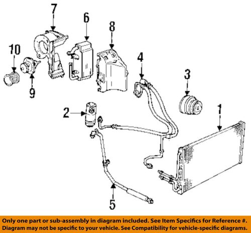 small resolution of details about gm oem a c ac compressor 88964869
